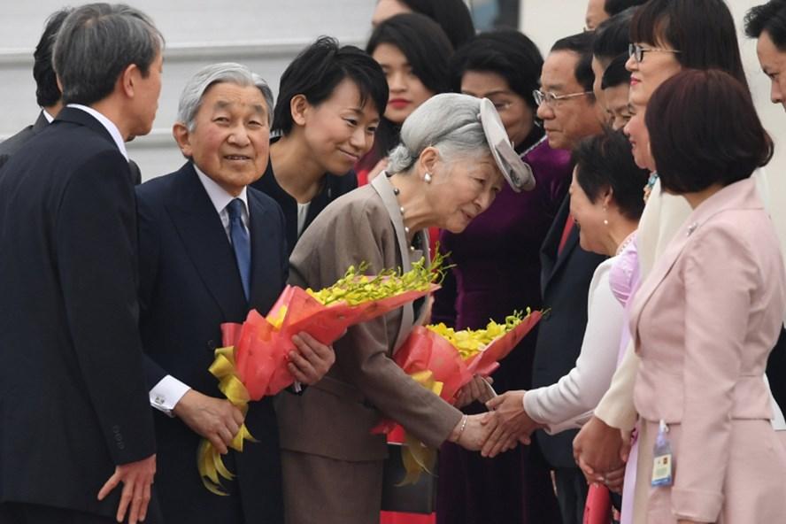 Nhà vua Nhật Bản và Hoàng hậu mang thông điệp nhân văn và hòa bình tới Việt Nam.