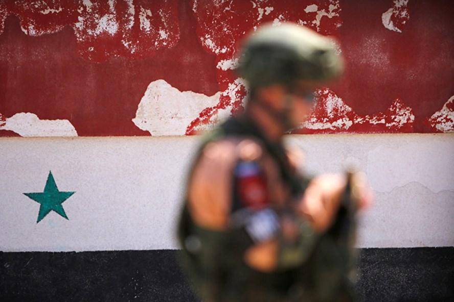 Quân nhân Nga ở Syria. Ảnh: Reuters