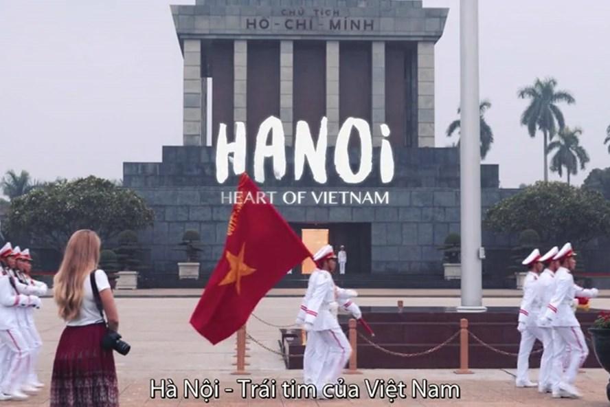 Hà Nội đẹp nên thơ trong 30 giây quảng bá Thủ đô trên sóng CNN