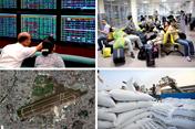 """Kinh tế 24h: Các """"ông lớn"""" độc quyền xuất khẩu gạo?; """"Đặt hàng"""" phương án mở rộng sân bay Tân Sơn Nhất"""