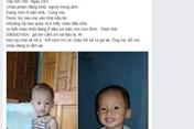 Thanh Hoá: Cháu bé 2 tuổi mất tích nghi bị bắt cóc