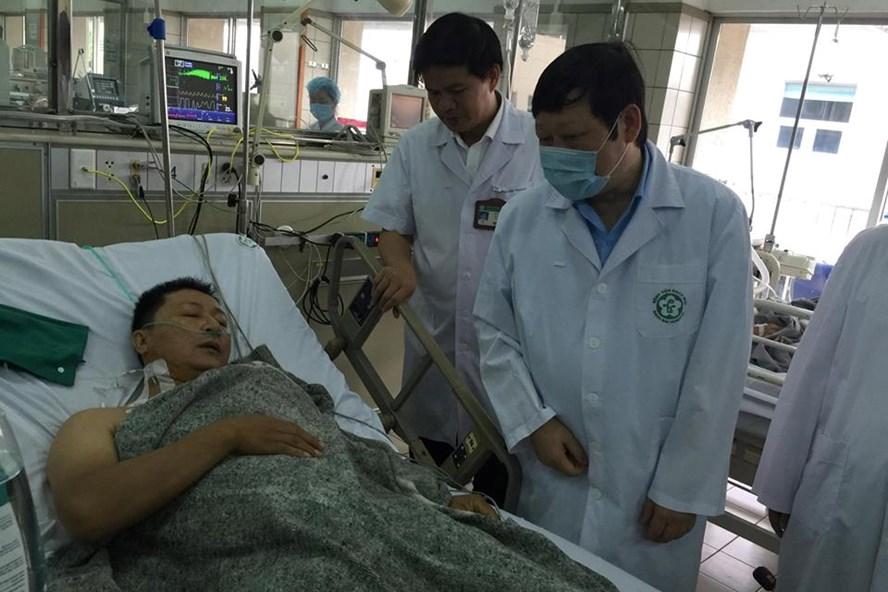 Bệnh nhân Nguyễn Văn Thiều đã hồi tỉnh, đang dần ổn định sức khoẻ.