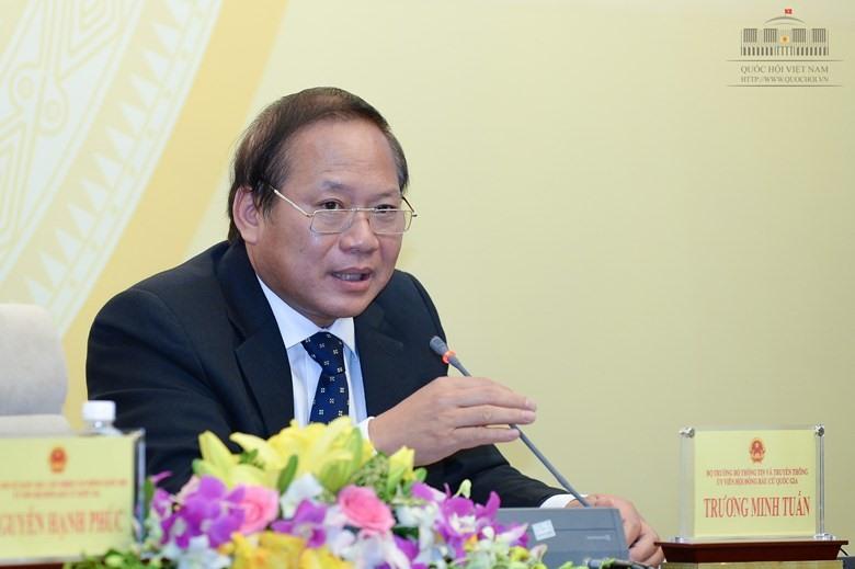 """Bộ trưởng Bộ TTTT Trương Minh Tuấn: """"Dòng chảy chính của báo chí hiện nay vẫn là dòng chủ lưu"""""""