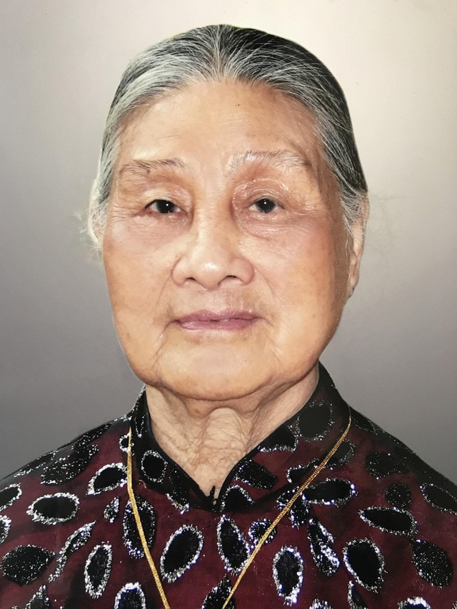 Cụ Phạm Thị Ninh.