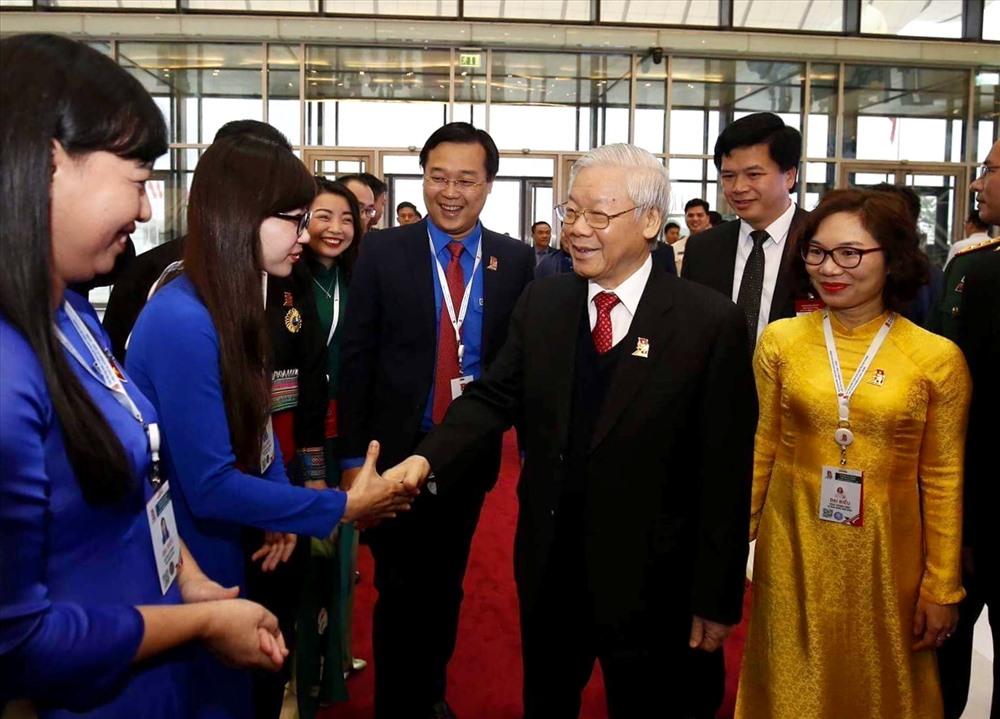 Tổng Bí thư Nguyễn Phú Trọng nhấn mạnh: Đảng, Nhà nước và nhân dân luôn đặt niềm tin sâu sắc vào thế hệ trẻ.