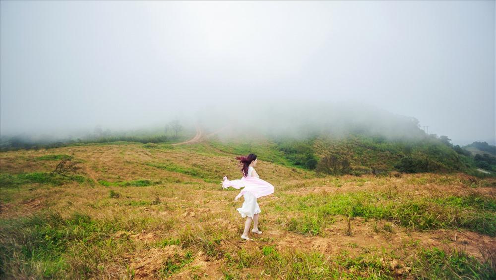 Trên đỉnh đèo Sa Mù của xã Hướng Việt, huyện Hướng Hóa.