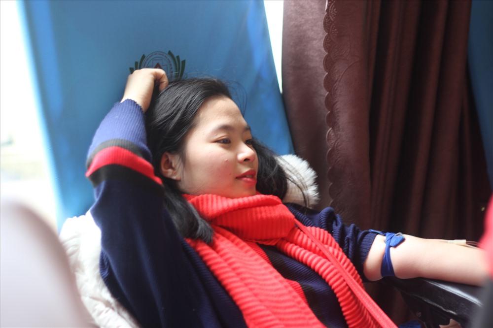 """Ngày hội là một trong những chuỗi hoạt động hưởng ứng chiến dịch vận động hiến máu tình nguyện trong dịp """"Tết Nguyên Đán – Lễ hội Xuân hồng"""" năm 2018. ảnh:NA"""