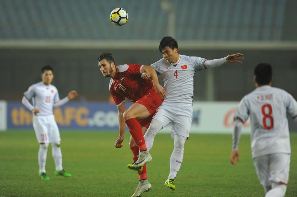 U23 Việt Nam đã giành tấm vé vào tứ kết U23 Châu Á một cách ấn tượng. Ảnh: M.T