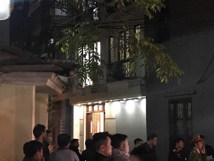 Ngôi nhà nơi ông Lâm tử vong. Ảnh: Ngô Phong