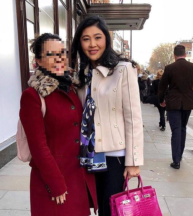Ảnh Cựu Thủ Tướng Thái Lan Yingluck Shinawatra Được Đăng Tải Trên Mạng Xã  Hội.