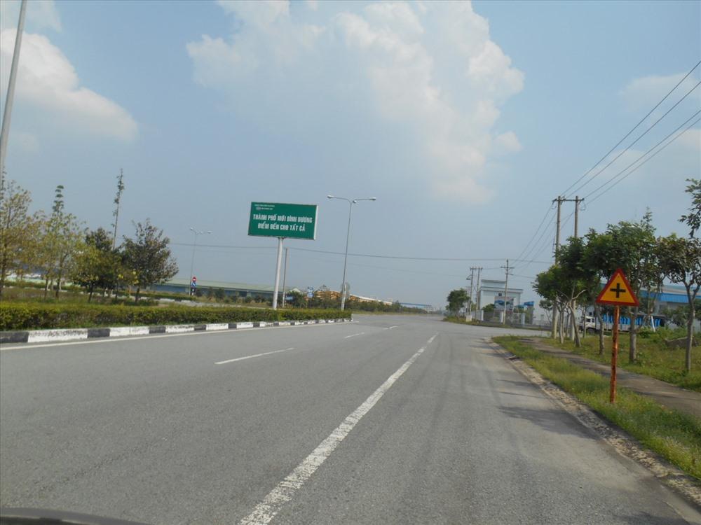 Nay, được UBND tỉnh Bình Dương cho phép mở rộng hơn 100 ha, để xây dựng Khu đô thị Đại Nam có số vốn 2.312 tỷ đồng. Ảnh: C.H