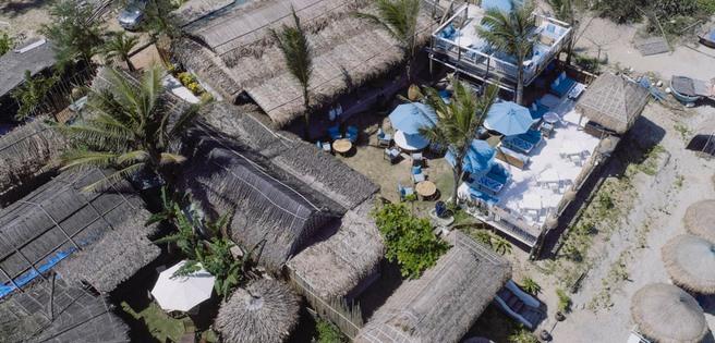 Toàn cảnh Shore Club nhìn từ không ảnh