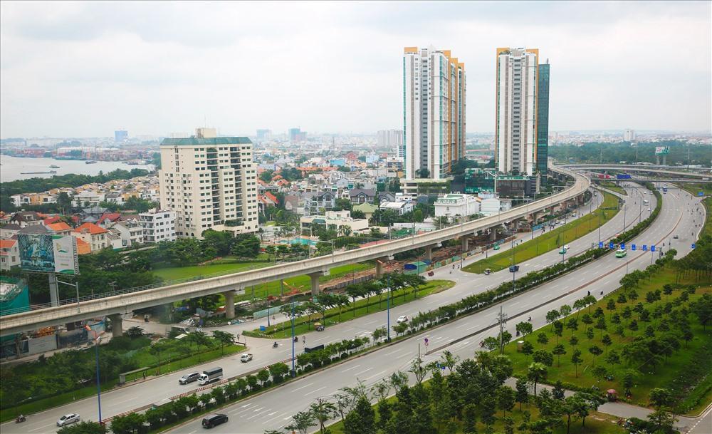 Tuyến metro Bến Thành - Suối Tiên đã hoàn thành khoảng 56% khối lượng nhưng đang đói vốn.