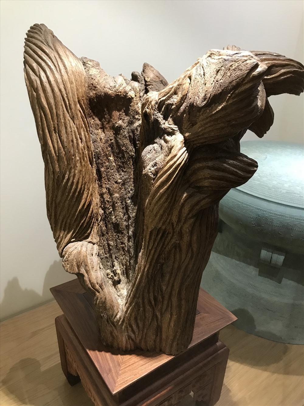 Những khối trầm và kỳ tự nhiên ở Bảo tàng trầm hương Khánh Hòa