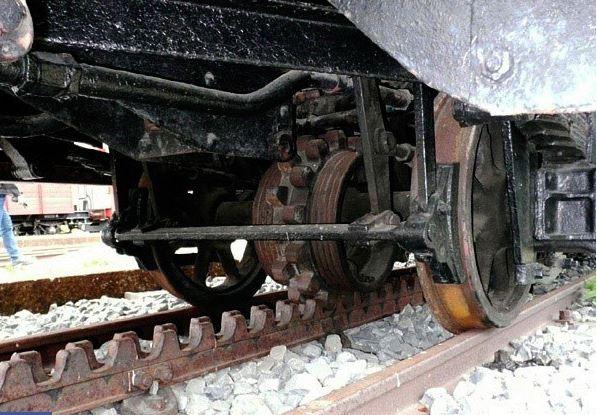 Đầu máy hơi nước trên tuyến đường sắt Đà Lạt - Tháp Chàm đã bán lại cho Thụy Sĩ. Ảnh: T.L