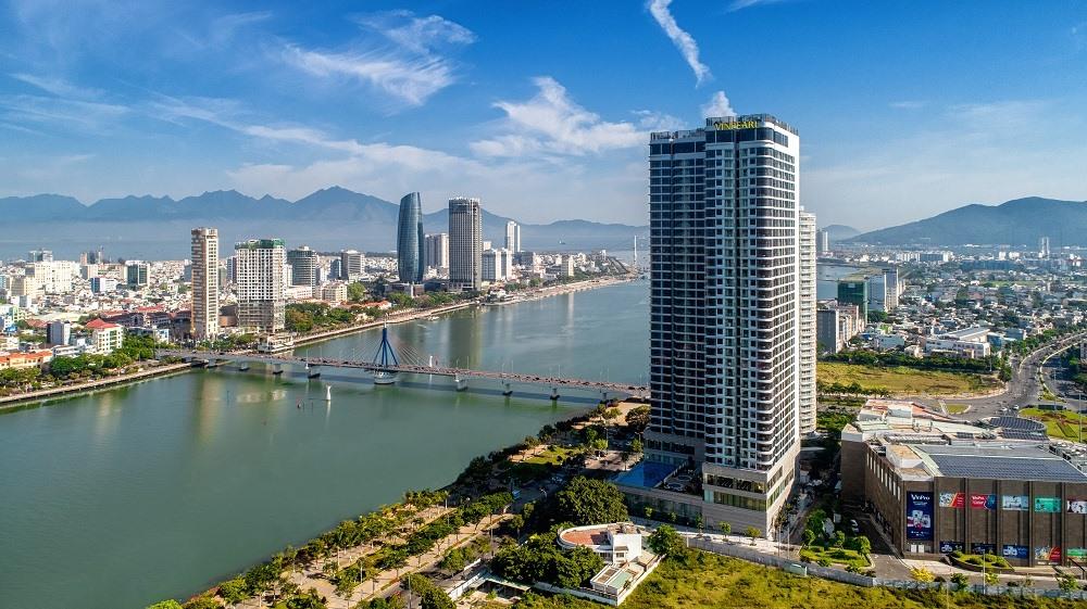Căn hộ khách sạn Vinpearl Condotel Riverfront Đà Nẵng bên cạnh trung tâm thương mại Vincom