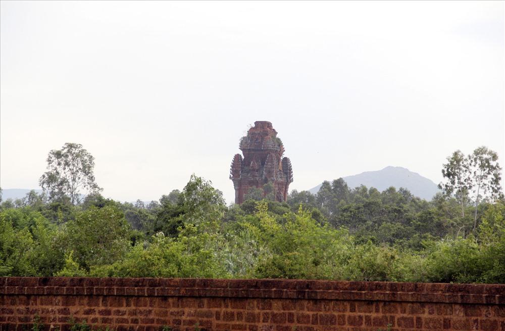 Tháp Cánh Tiênlà ngôi tháp duy nhất còn lại trong kinh thành Đồ Bàn xưa.