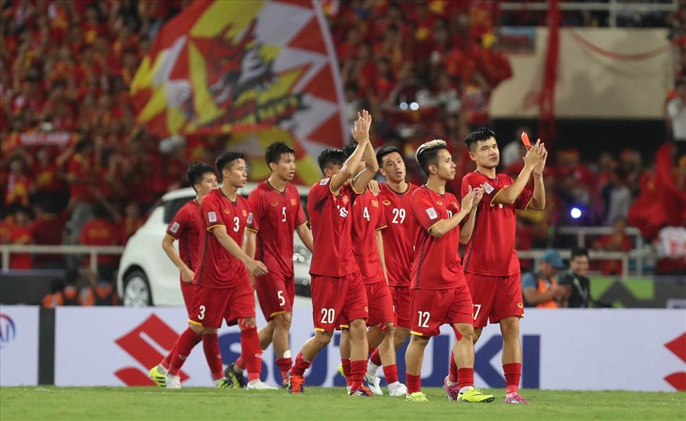 DDT Việt Nam với triết lý bóng đá không thua của ông Park sẽ đứng vững trên sân của Myanmar ngày 20.11 này. Ảnh: Đ.Đ