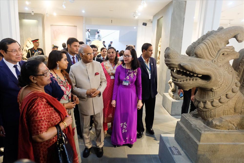 Hiện nay, Bảo tàng đang phối hợp với Bảo tàng quốc gia Ấn Độ nghiên cứu, biên soạn sách giới thiệu mối quan hệ giữa nghệ thuật điêu khắc Chăm và nghệ thuật Ấn Độ, chuẩn bị in tại Ấn Độ cuối năm 2018.