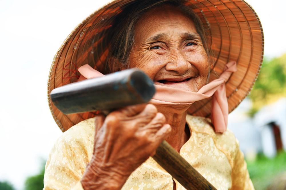 Nụ cười đẹp nhất thế giới.