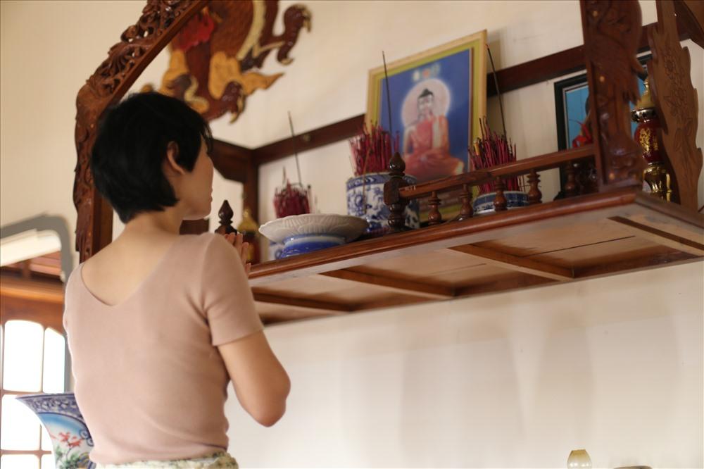 Chị Tâm, vợ Trịnh Công Minh mong muốn cơ quan điều tra sớm giải quyết dứt điểm vụ án oan đối với chồng chị.