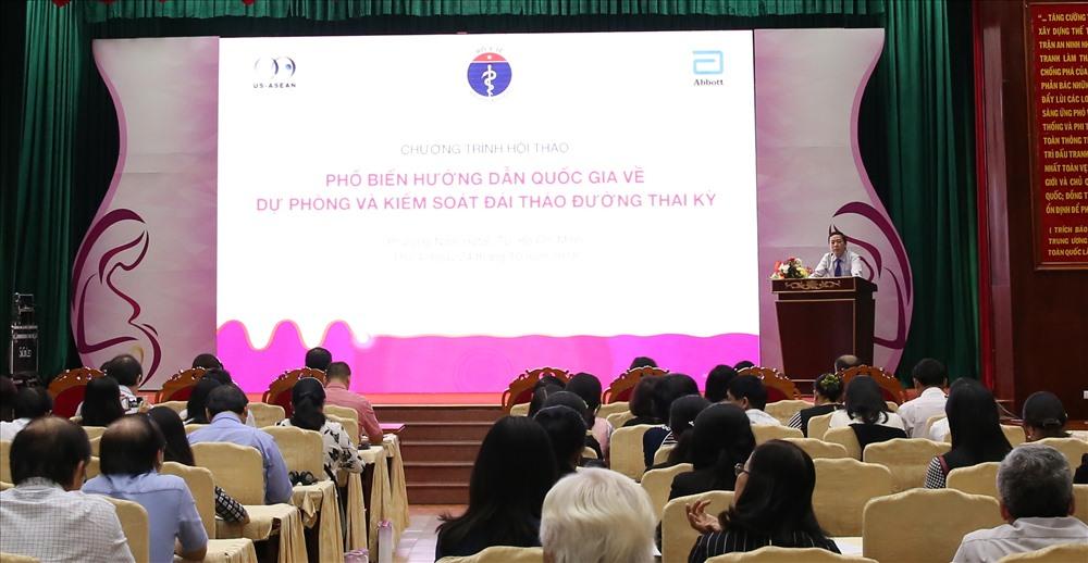 """Hội thảo """"Phổ biến hướng dẫn quốc gia về dự phòng và kiểm soát đái tháo đường thai kỳ""""được tổ chức tại Hà Nội, Đà Nẵng, Tp. Hồ Chí Minh"""