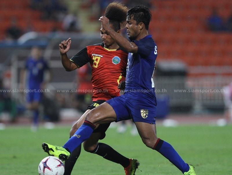 ĐT Thái Lan vùi dập  Timor Leste 7-0  bằng kỷ lục 6 bàn thắng của Adisak - ảnh 2