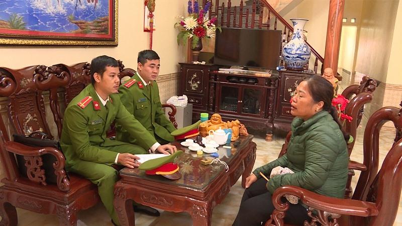 Công an Thành phố Hưng Yên nắm nội dung vụ việc tại gia đình anh Xuân
