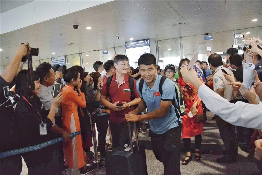 Tuyển Việt Nam sẽ về tới sân bay Nội Bài vào tối nay.