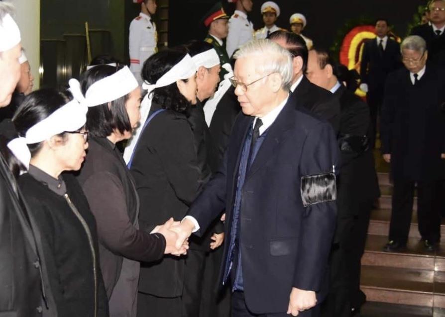 Tổng Bí thư, Chủ tịch Nước Nguyễn Phú Trọng chia buồn với gia quyến đồng chí Nguyễn Văn Trân