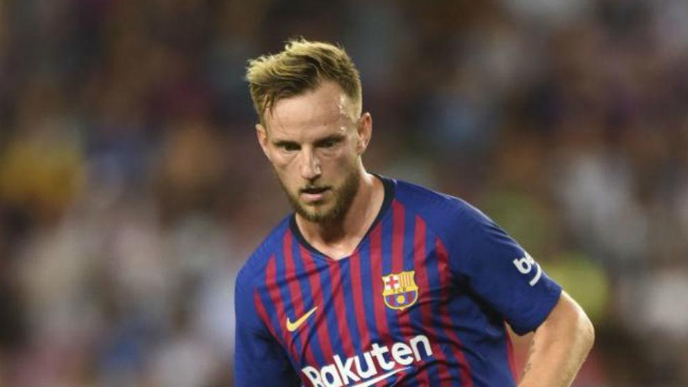 Rakitic sẽ ra đi sau khi đã no nê danh hiệu cùng Barcelona?. Ảnh Marca
