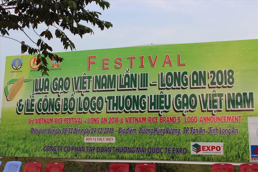 Festival là sự kiện lớn không chỉ của tỉnh Long An mà còn của cả ngành sản xuất lúa gạo cả nước.