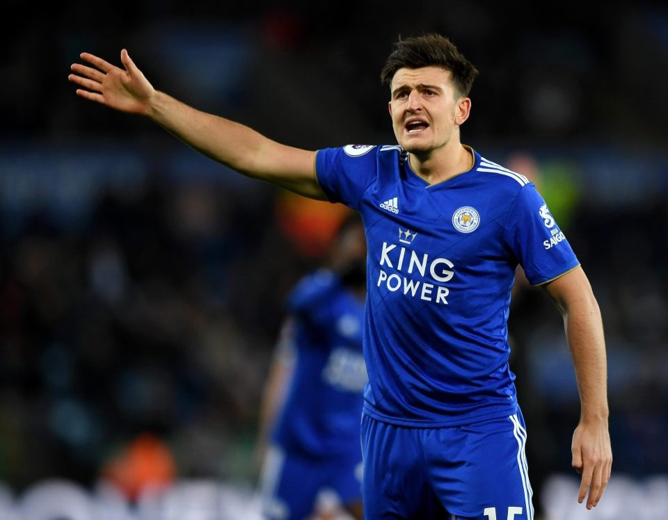Harry Maguire của Leicester