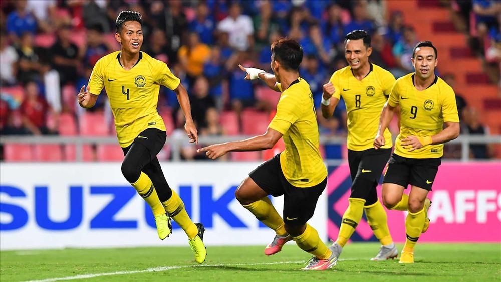 ĐT Malaysia hoàn toàn xứng đáng với tấm vé vào chơi trận chung kết AFF Cup 2018. Ảnh: AFF
