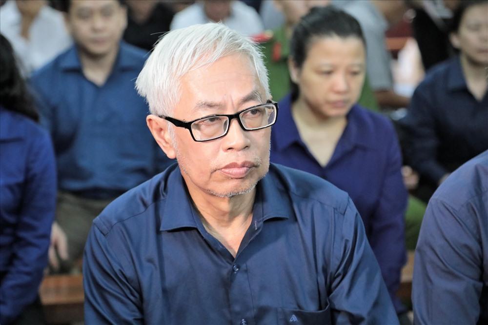 Sau phần luận tội của VKSND TPHCM, bị cáo Trần Phương bình đối diện với mức án tù chung thân. Ảnh: Trường Sơn