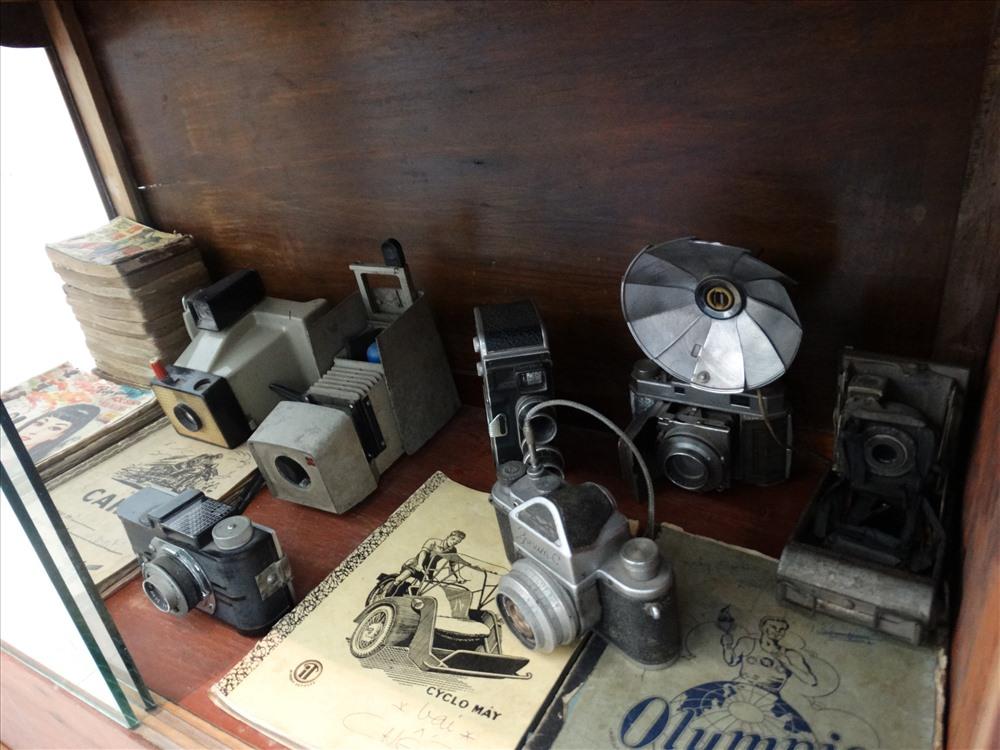 Những kỷ vật Sài Gòn xưa như chiếc máy ảnh