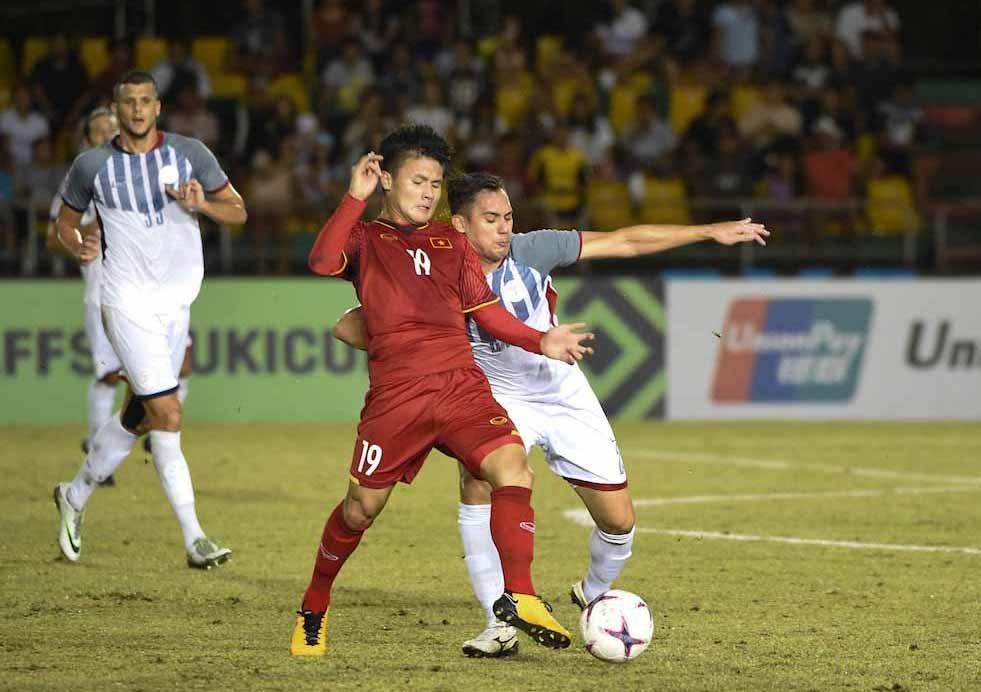Tiền vệ của ĐT Việt Nam đang thể hiện phong độ cực kì ấn tượng tại AFF Cup 2018. Ảnh: Đ.Đ