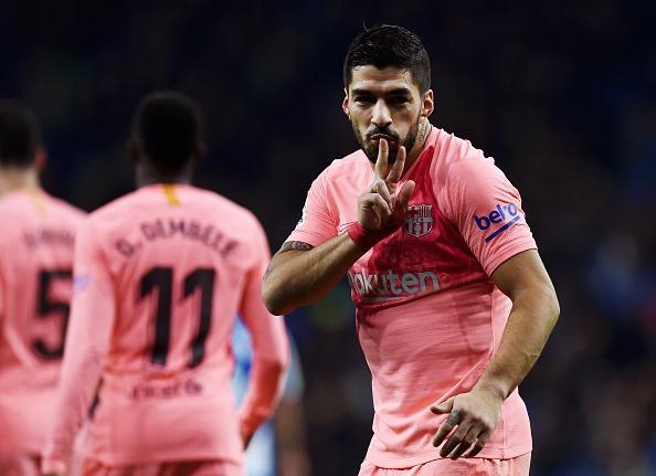 """Luis Suarez cũng đã """"thông nòng"""" trở lại (Ảnh: Getty)"""