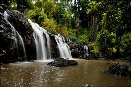 Thác Đắk Lốp trên dòng sông Ba(huyện K'Bang)