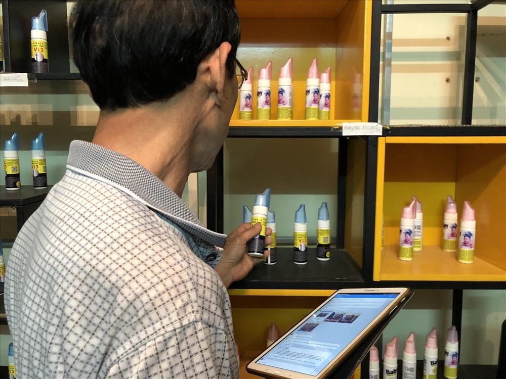 Ông T. chủ đại lý bán hàng tại Hà Nội, khẳng định sử dụng sản phẩm của công ty Vinaca có thể chữa ung thư.