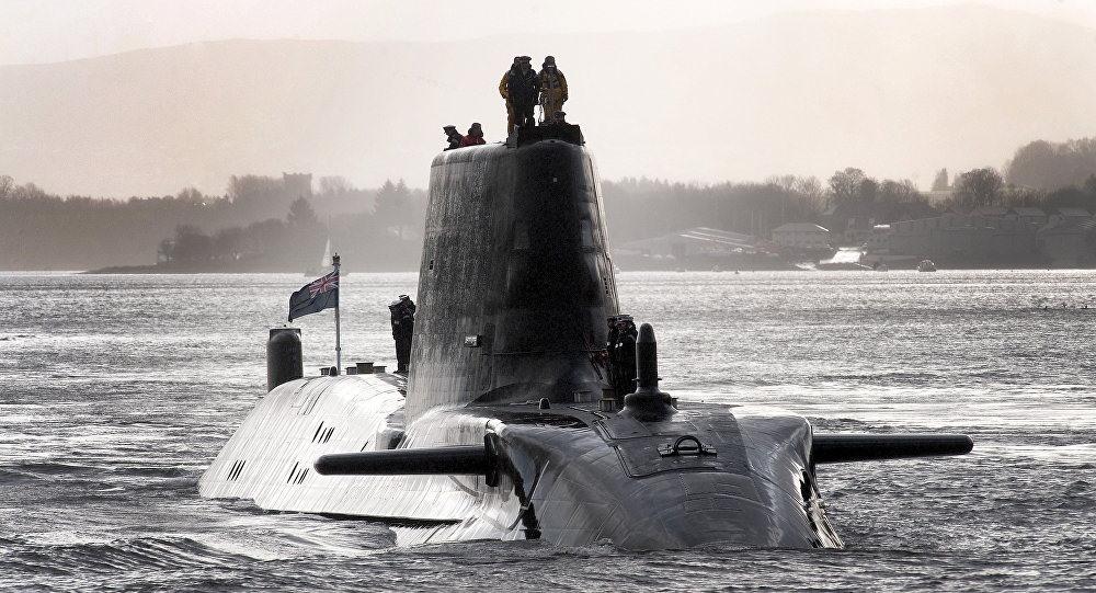 Tàu ngầm HMS Astute của hải quân Anh được trang bị 38 ngư lôi và tên lửa. Ảnh: CNN