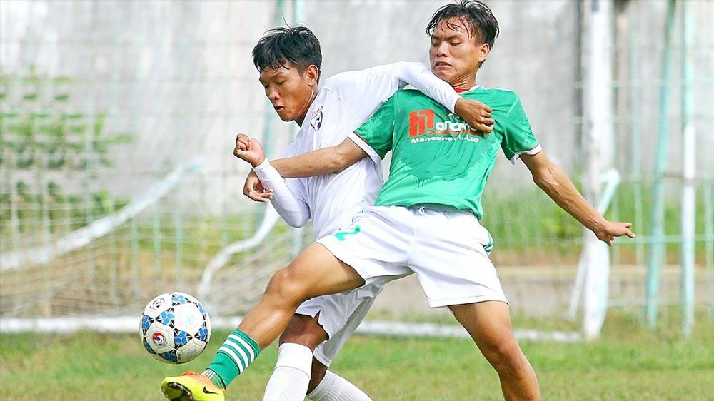 CLB Mancons Sài Gòn bỏ giải hạng Nhì 2018 vì cho rằng VFF coi thường các đội bóng và thiếu tôn trọng giải đấu. Ảnh: SGGP