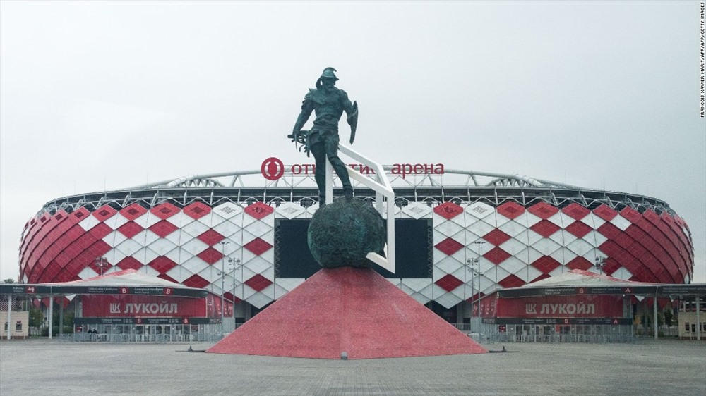 Sân vận động Spartak là sân nhà của câu lạc bộ Spartak Moscow. Sân vận động được chính thức mở cửa vào tháng 5 năm 2014