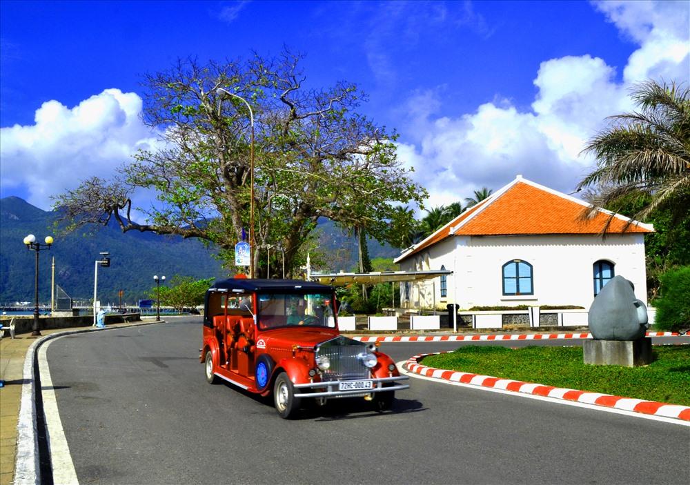 Cảnh trí ở Côn Đảo đẹp như bài thơ đầy âm thanh, nhạc điệu và màu sắc. (Ảnh: Thanh Mai)