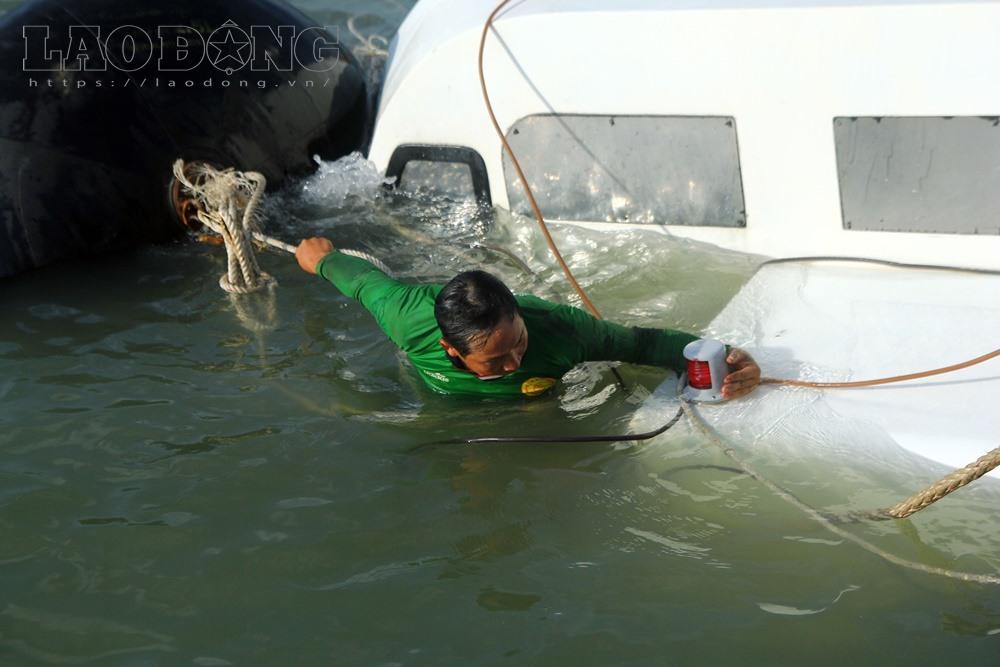 Đội thợ lặn tích cực