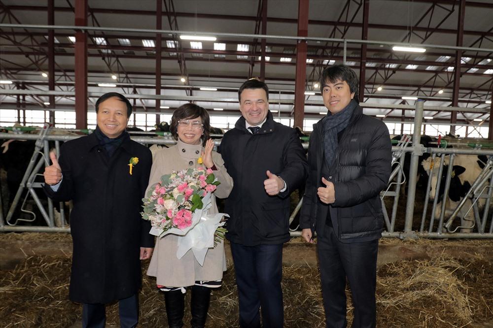 Trang trại đầu tiên trong tổ hợp trang trại có vốn đầu tư 2,7 tỷ USD của TH đầu tư tại Nga đã được khánh thành ngày 31.1.2018.