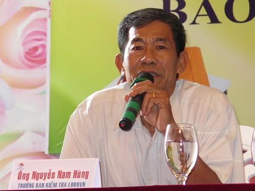 Ông Nguyễn Nam Hùng - trưởng Ban Kiểm tra VFF. Ảnh: TL
