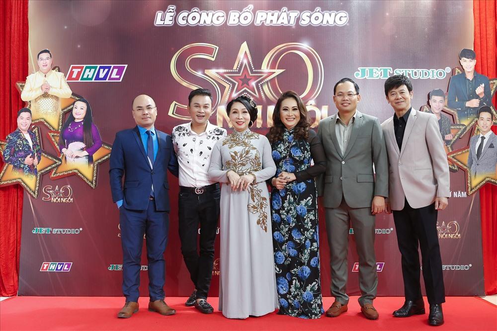 Các giám khảo, MC và ban tổ chức