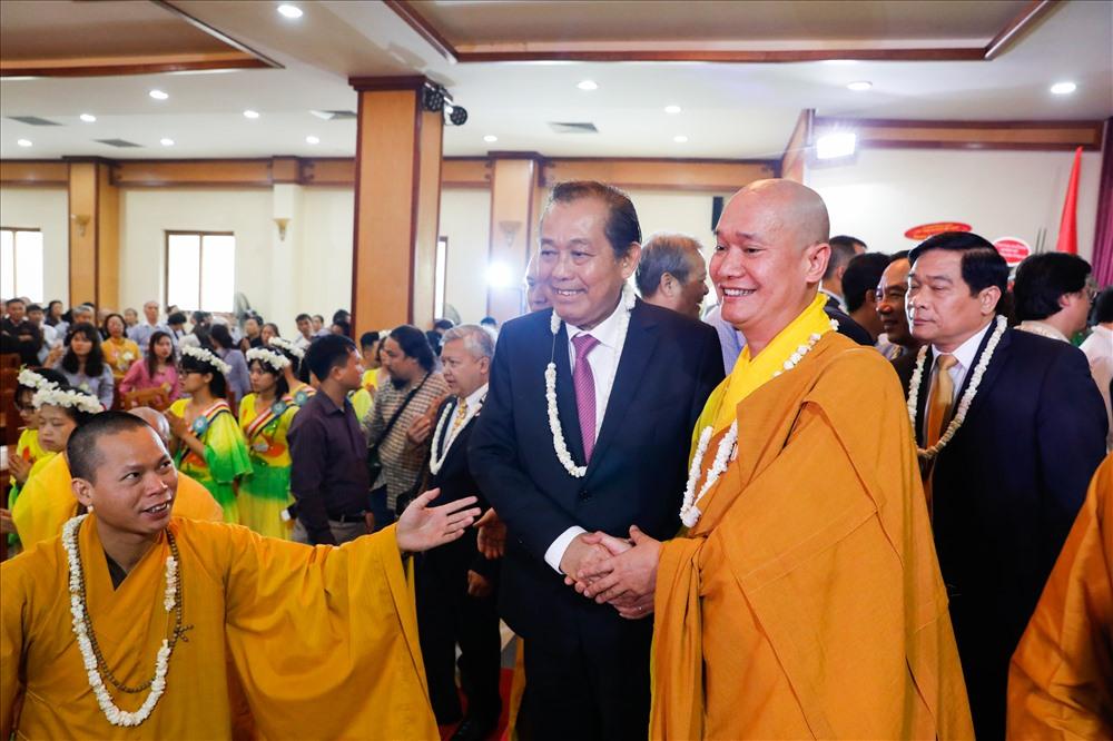 Phó Thủ tướng Trương Hòa Bình cùng các lạnh đạo cấp cao Trung ương