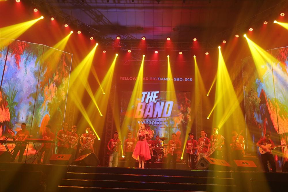 Ban nhạc giành giải Nhì Yellow Stars Bigband.